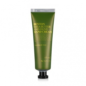 BENTON Krem do rąk Shea Butter and Olive Hand Cream 50g