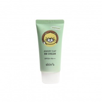 Skin79 Kojący krem BB Animal BB Cream Angry Cat SPF 50 - Soothing (Petal Beige)