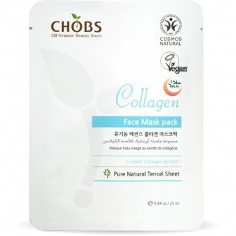CHOBS Maseczka do twarzy- ujędrniająca Collagen Face Mask Pack 25ml