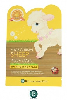 BELLEZA Nawilżajaca maseczka EDGE Cutimal Sheep Aqua Mask 25g