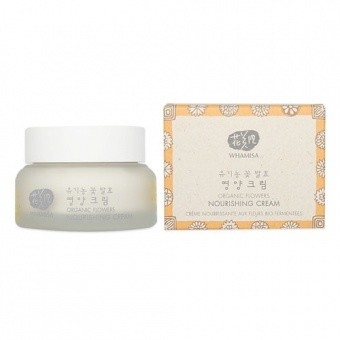 WHAMISA Odżywczy krem Organic Flowers Nourishing Cream 51ml