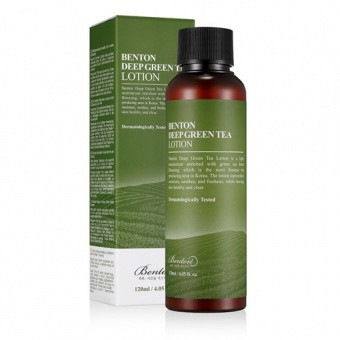 BENTON Lekka emulsja Deep Green Tea Lotion 120ml